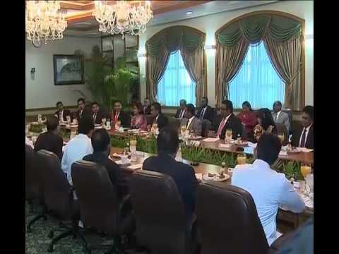 President Mahinda Rajapaksa Maldives Visit