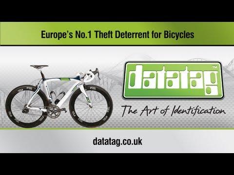 """Datatag UV """"Stealth"""" Cycle Standard System Installation"""
