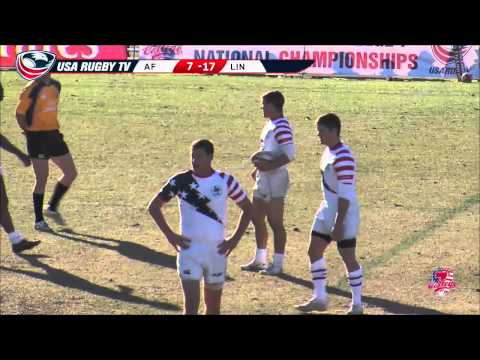 2013 USA Rugby College 7s National Championship: Air Force vs Lindenwood