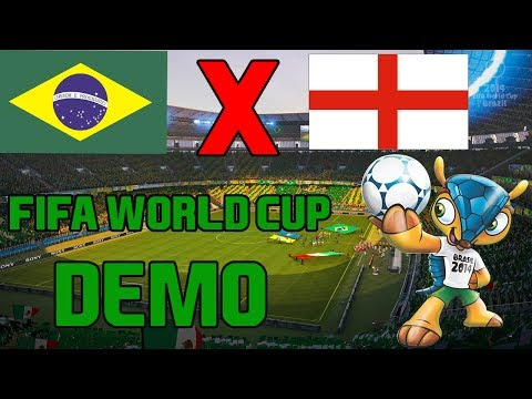 FIFA World Cup 2014 DEMO (game) - Brasil x Inglaterra - Arena Amazonia