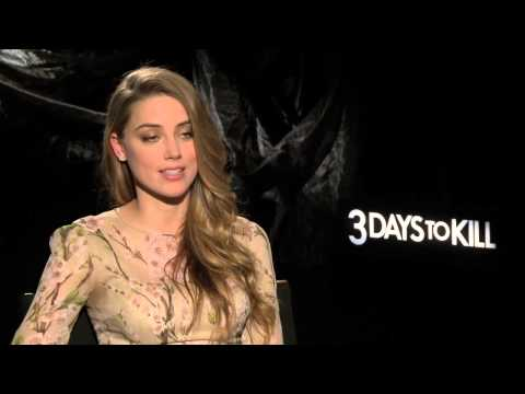 3 DAYS TO KILL Interviews: Kevin Costner and Amber Heard
