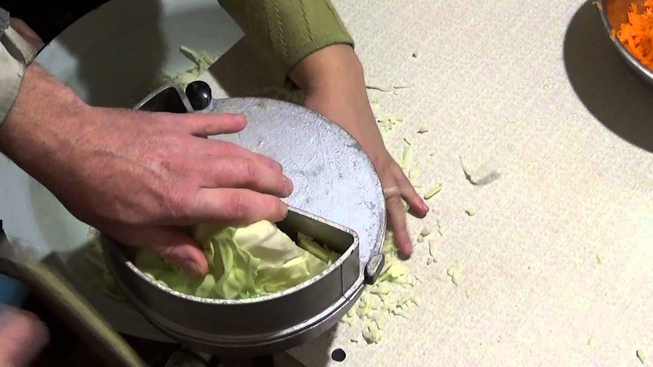 Шинковка для капусты электрическая своими руками видео
