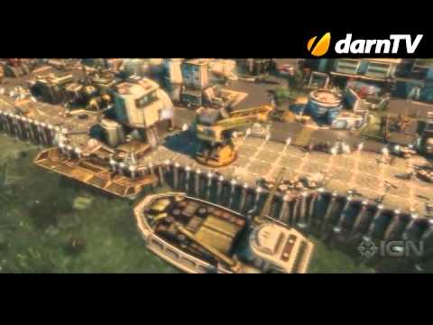 Анонс игры Anno 2070 [Доступен первый трейлер]