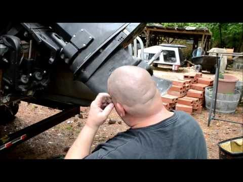 PART 3 1975-2006  60HP JOHNSON / EVINRUDE / OMC /  LOWER UNIT INSTALL, ADJUSTMENT AND TESTING