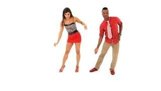 How To Do Drunken Step Aka Half Grapevine Bachata Dance