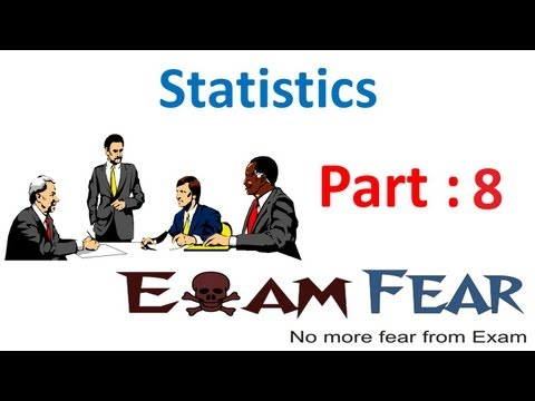 Maths Statistics part 8 (Example Mean Deviation Method) CBSE class 10 Mathematics X