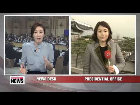 President Park presides over televised deregulation debate