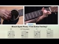 How To Play I Gotta Feeling By The Black Eyed Peas On Guitar