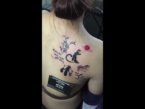 Hình Xăm Cha Mẹ Thực Hiện Tại Đỗ Nhân Tattoo Địa Chỉ Xăm Hình Uy Tín Ở TpHCM