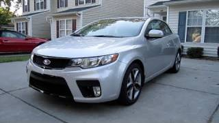 2010 Kia Forte Koup SX In Depth Review, Start Up, And