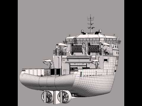 Anchor Handling Tug Supply 3D model from CGTrader.com