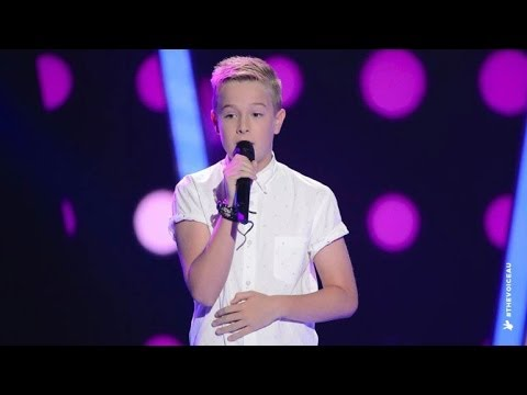 Chris Sings More Than This | The Voice Kids Australia 2014