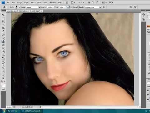 Maquiagem Digital PhotoShop CS4 by nunesfast