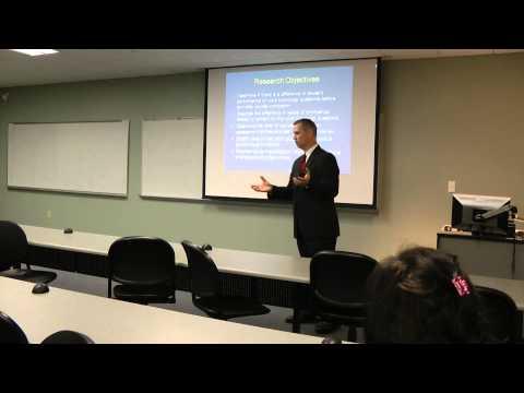 Candidate Presentation - 10/4/13