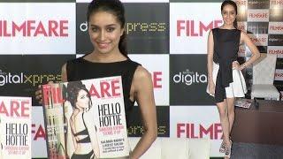 Shraddha Kapoor Wearing Very Short Dress Shape Visible