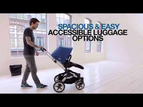 Bugaboo Buffalo Pushchair With Cabriofix Car Seat + Adapters