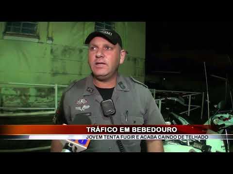 02/06/2018 - Jovem de 27 anos é preso por tráfico de drogas no Bairro Jardim Alvorada em Bebedouro