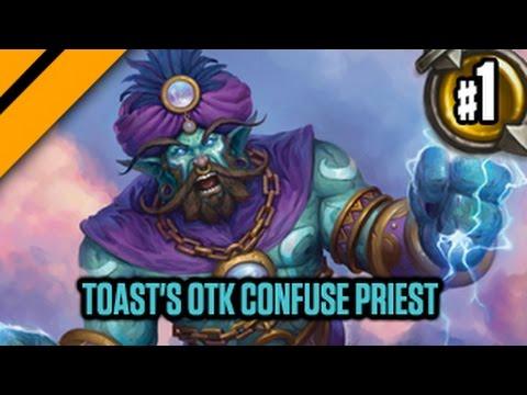 Day[9] HearthStone Decktacular #299 - Toast's OTK Confuse Priest