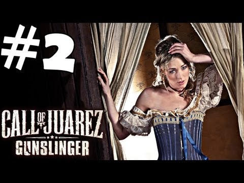 Call of Juarez Gunslinger Walkthrough Part 2 Gameplay Review Let's Play Playthrough PC PS3 XBOX 360
