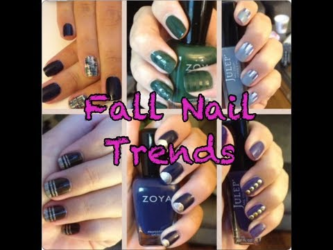 Fall Nail Trends 2013,