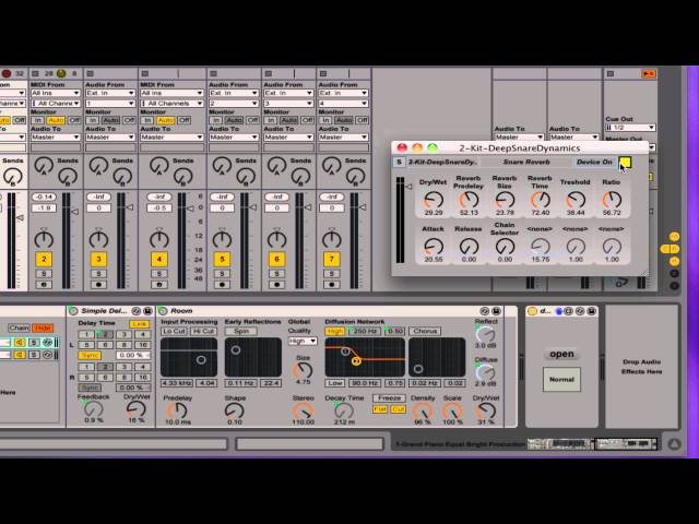 Max For Ableton Live Dev View Mastering Mixing Performing