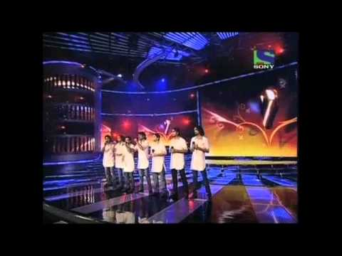 Deewana Group's peaceful singing on Dil Kya Kare- X Factor India - Episode 19 - 16th Jul 2011