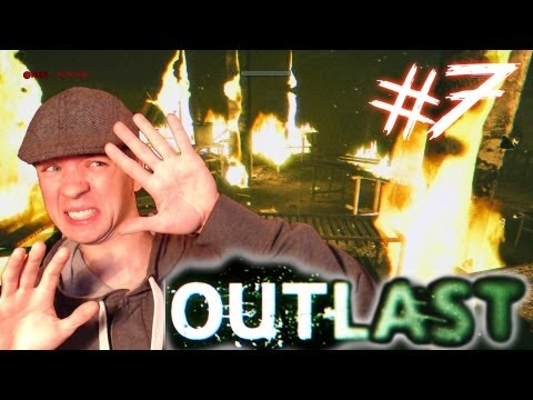 Outlast - Part 7 | THE ROOF IS ON FIRE | Gameplay Walkthrough - Commentary/Face cam reaction
