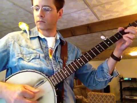 Banjo 1: C chord, hammer-on, pull-off, and