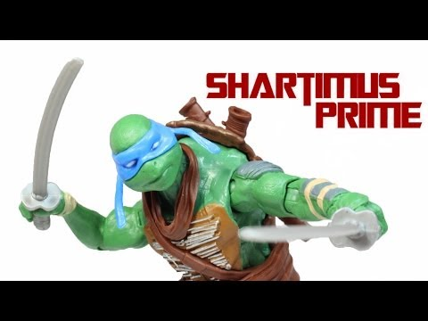 Ninja Turtles Leonardo 2014 Movie Toy Basic Action Figure Review