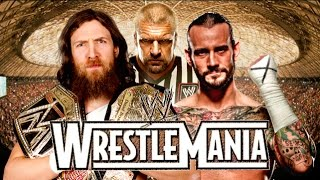 CM Punk vs Daniel Bryan Wrestlemania 31 Promo HD (New Edition)