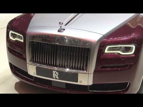 Rolls-Royce Motor Cars Unveils Ghost Series II at 2014 Geneva Motor Show