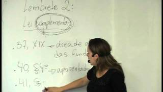AULA 044 - Dica lei complementar X ordinaria view on youtube.com tube online.