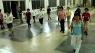 CHINA CHA CHA Line Dance (中国恰恰)