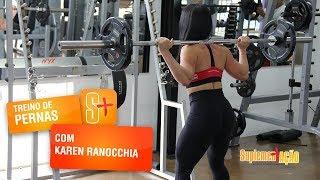 Karen Ranocchia - Agachamento livre