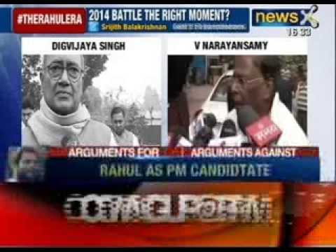 Rahul Gandhi PM candidate for Congress ? - NewsX