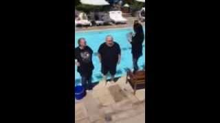 Video: ALS Ice bucket challenge - George R.R. Martin