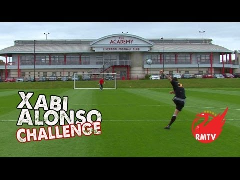 Xabi Alonso Challenge: Liverpool FC U21's SPECIAL