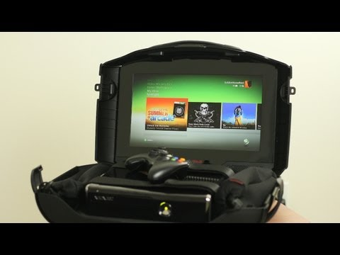 Review: Gaems G155 Mobile Gaming Station (Xbox 360 & PS3), Netflix: http://goo.gl/CRUiZ Product Website: http://goo.gl/LIF9Q Get my Official SoldierKnowsBest Apps: iPhone: http://goo.gl/LSSIa Android: http://goo.gl/i...