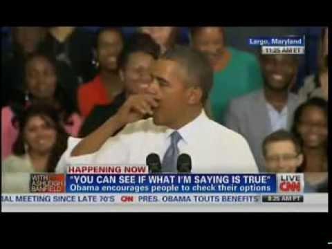 Barack Obama Attacks Fox News During Speech On ObamaCare - 9/26/13