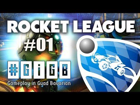 Rocket League #01 - (Gameplay in Guad Bavarian) #GiGB