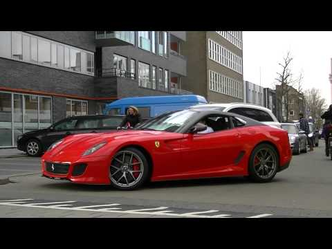 Ferrari 599 GTO Extreme Acceleration Sound  LOUD! Full HD 1080P