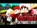 KILLING SKYWARS YOUTUBERS Skywars YouTuber Event