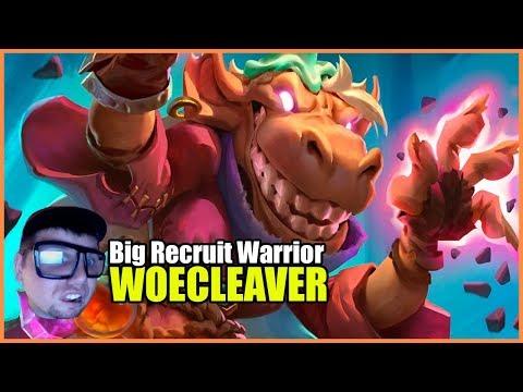 Witchwood Big Recruit Warrior | Fr0zen Hearthstone Decks | Gather Your Party!!!