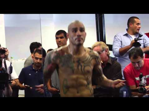 Miguel Cotto-Sergio Martinez Los Angeles presser