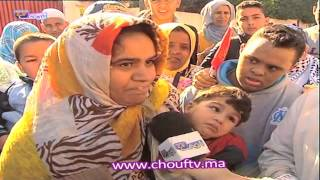 مسيرة حاشدة للمعاقين المغاربة ضد التهميش   روبورتاج