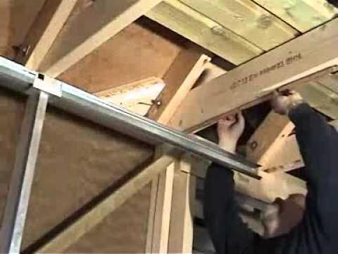 Hvordan montere garasjeport