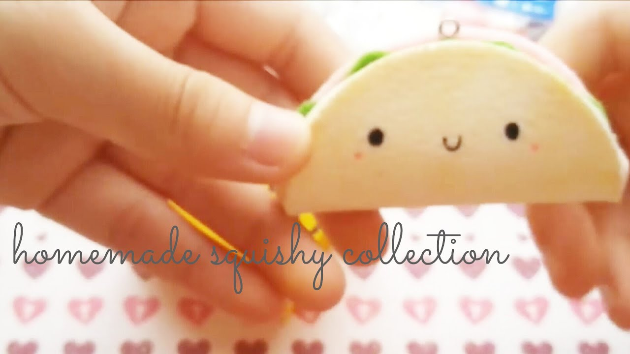 Homemade Squishy Collection 2014 : Homemade squishy collection 2013   - YouTube