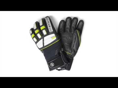 Bogner Steve Mens Ski Glove in Black and Green