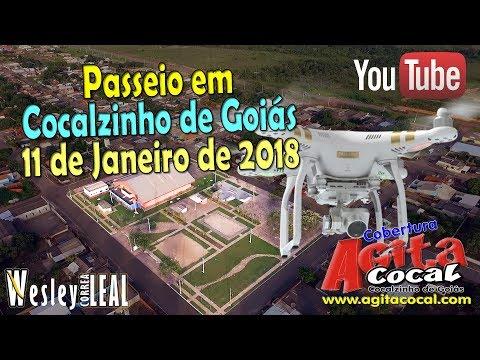 """Passeio Aéreo """"Drone"""" em Cocalzinho de Goiás"""