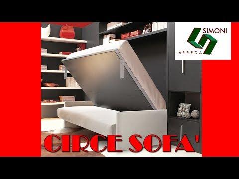 Letti a scomparsa circe sofa 39 youtube for Simoni arreda milano